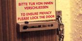 ドアの防犯